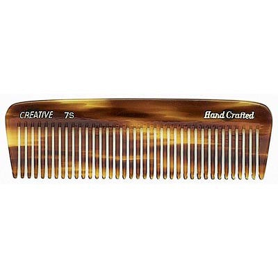 Creative Hairtools Handmade Tortoise Combs C7S