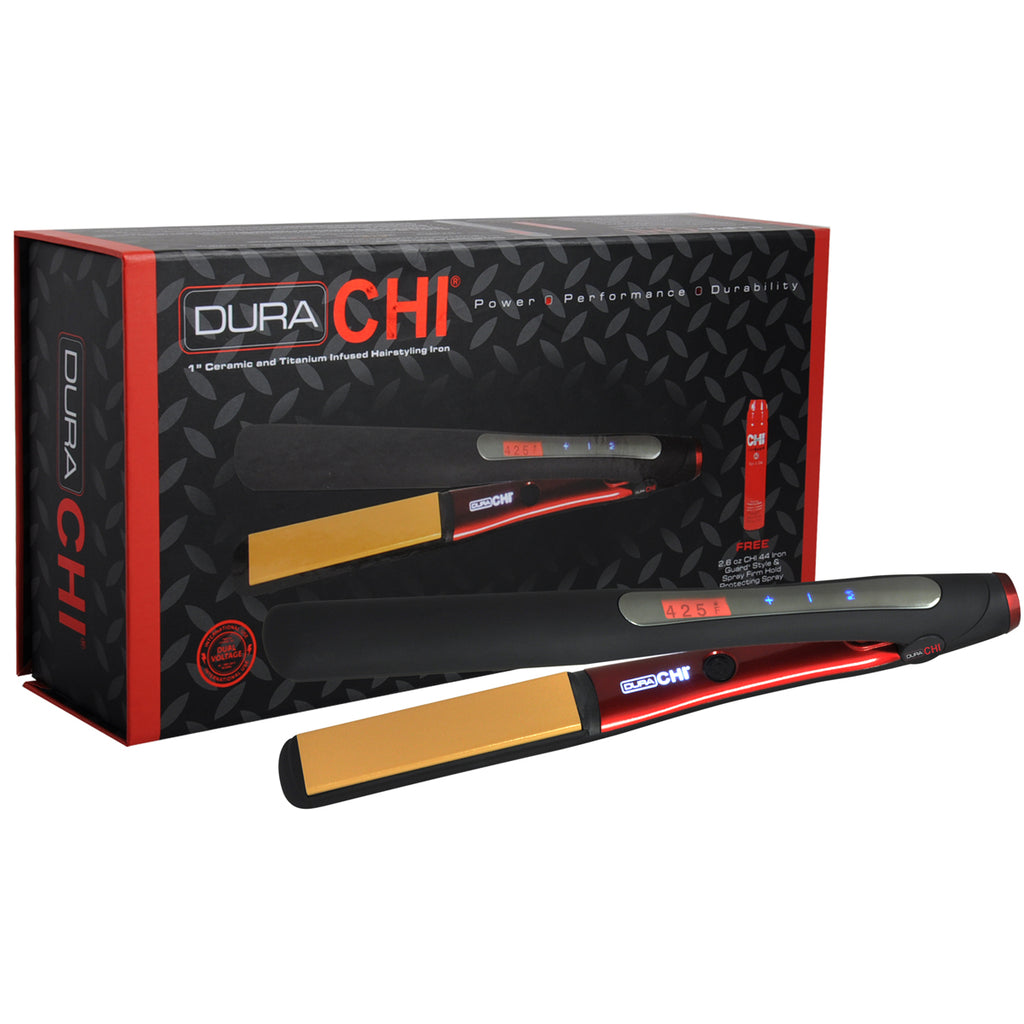 CHI Dura Hair Styling Iron Ceramic & Titanium 1 Inch