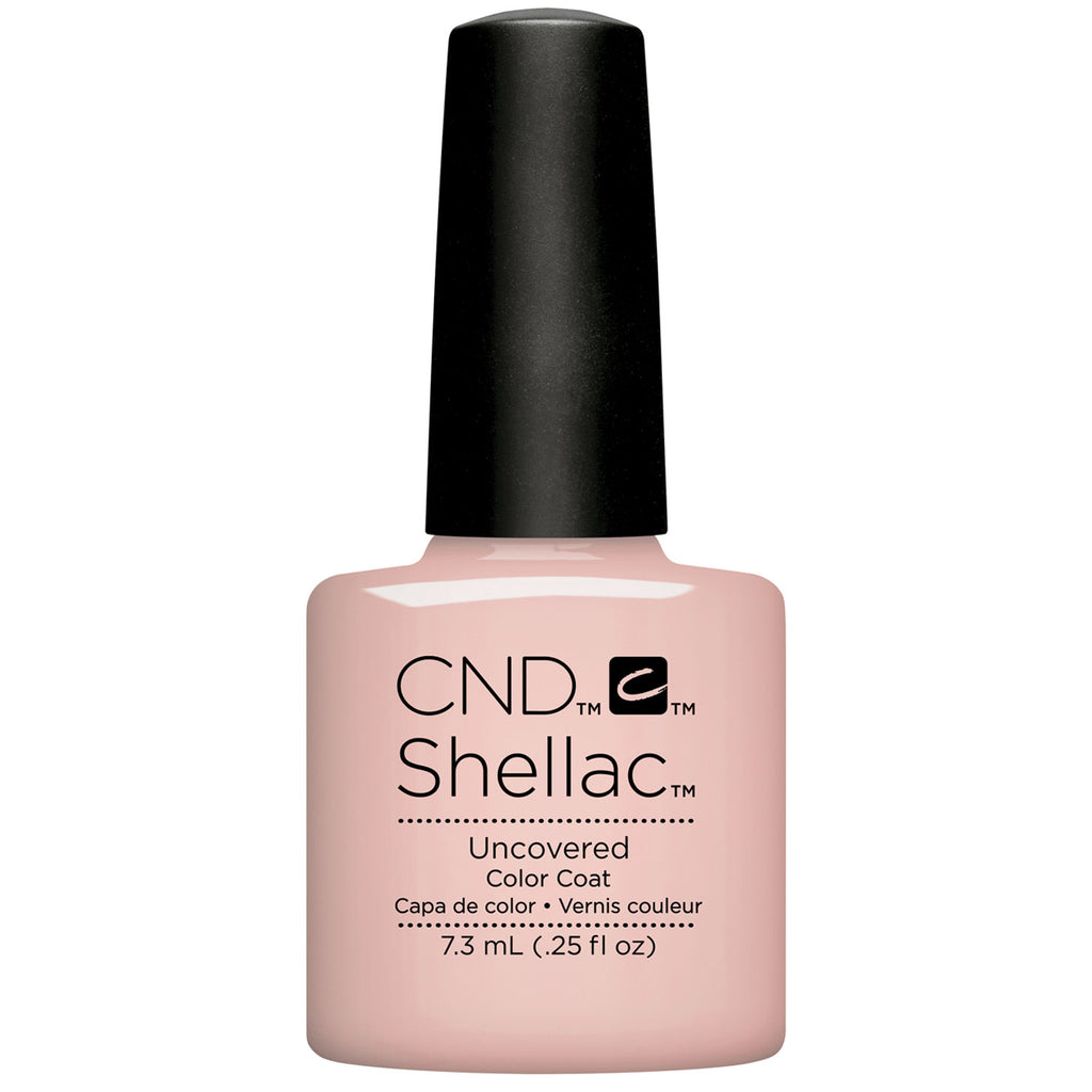 CND Shellac Nude The Collection Uncovered .25 oz