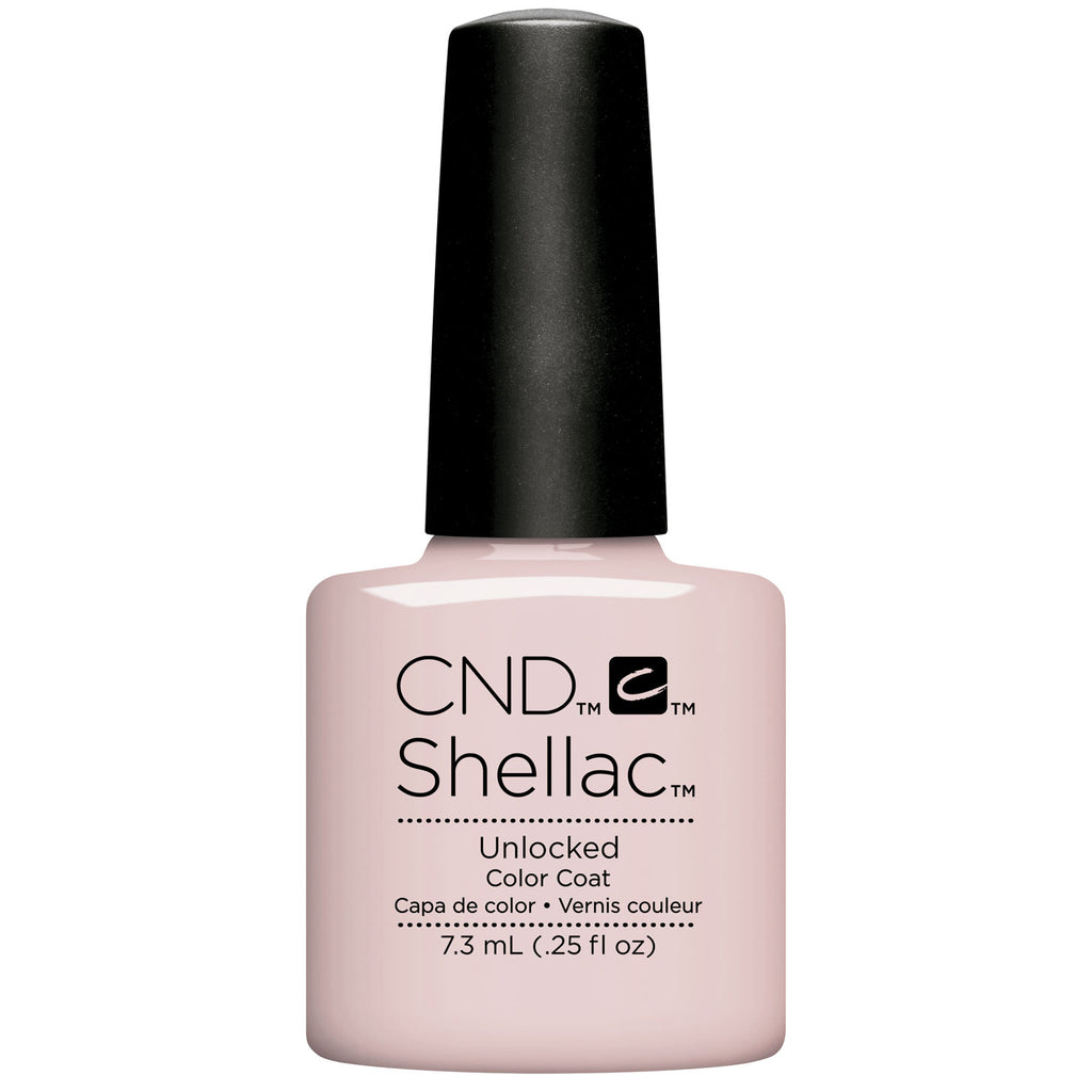 CND Shellac Nude The Collection Unlocked .25 oz
