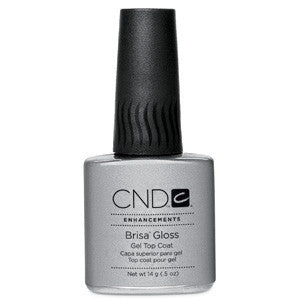 CND Brisa Gloss Gel Top Coat 0.5 oz