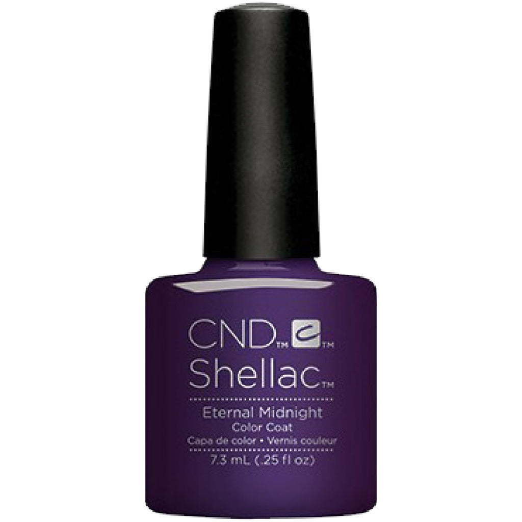 CND Shellac Nightspell Collection Eternal Midnight .25 oz
