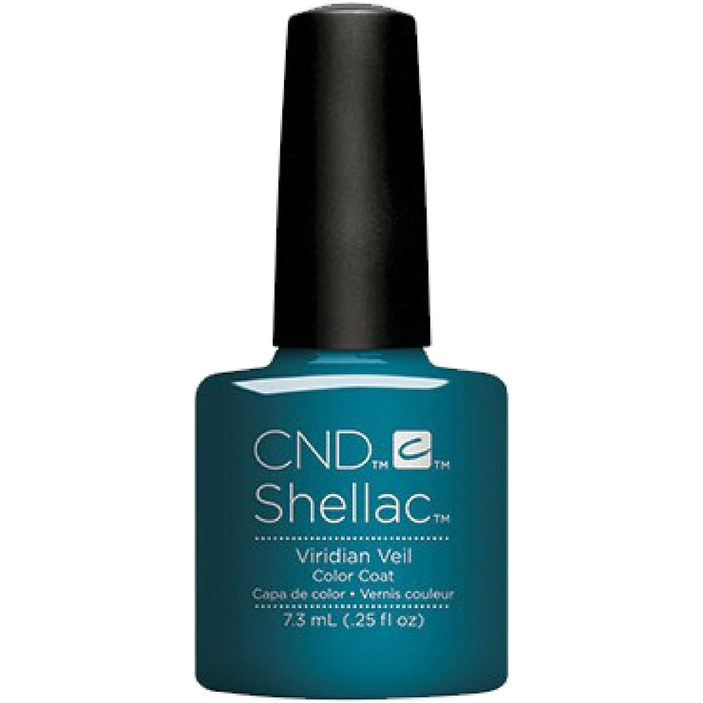 CND Shellac Nightspell Collection Viridian Veil .25 oz