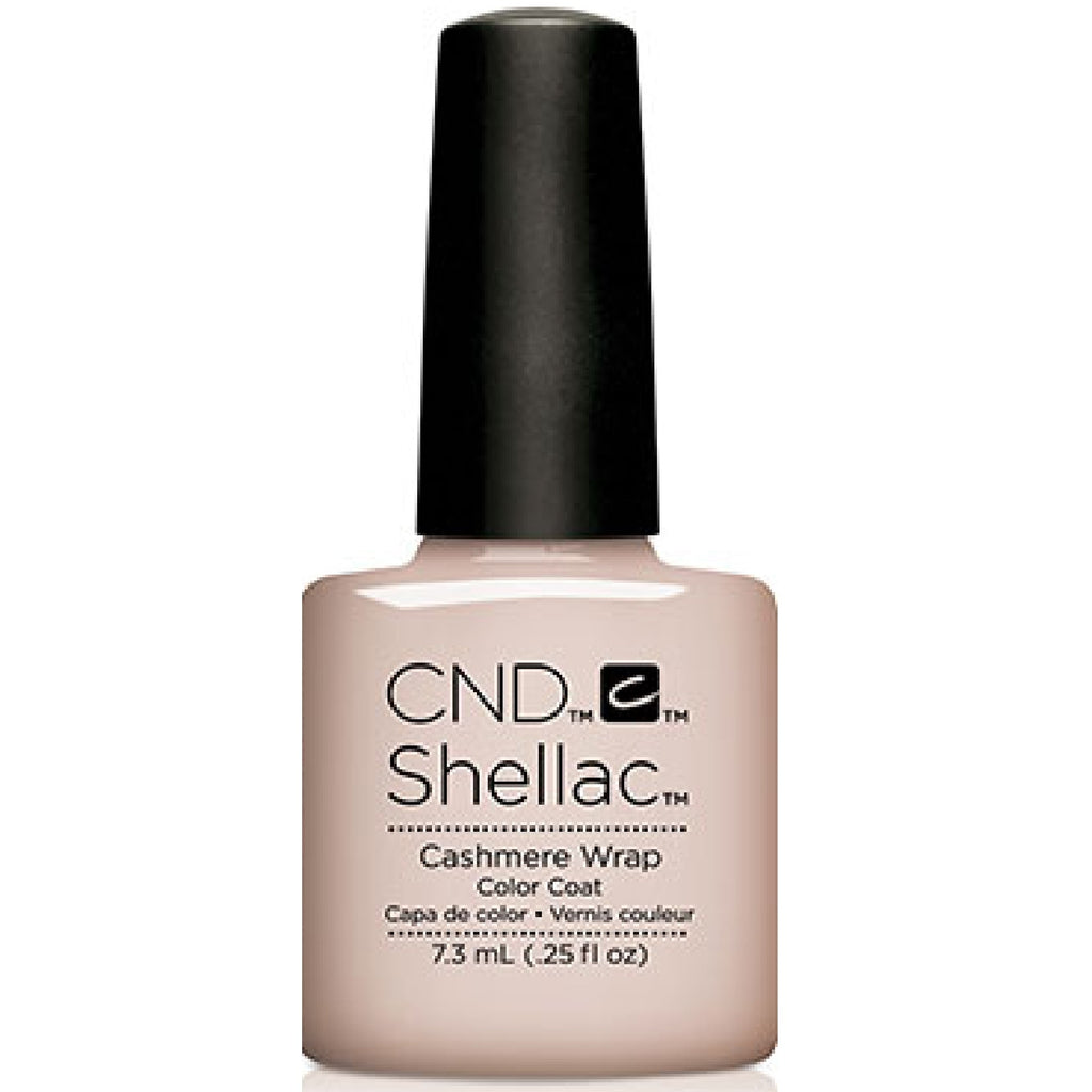 CND Shellac UV Color Coat Glacial Illusion Cashmere Wrap 0.25 oz
