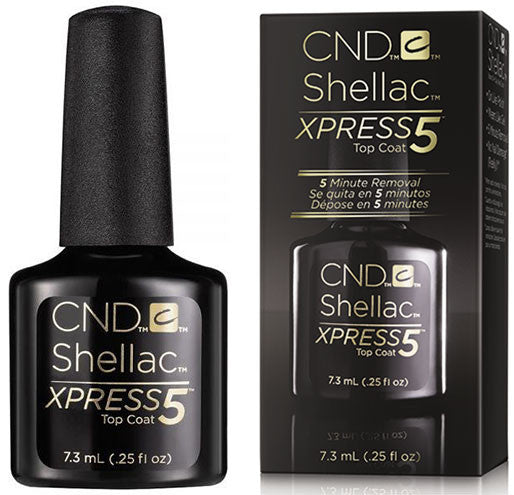 CND Shellac Xpress5 Top Coat 0.25 oz