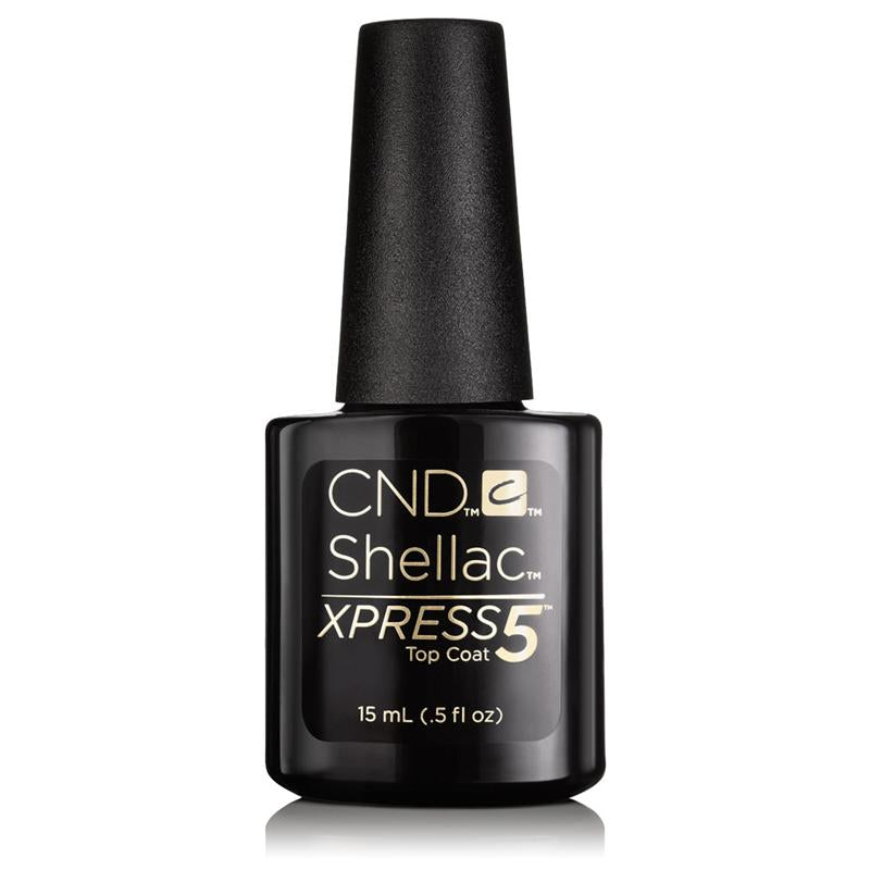 CND Shellac Xpress5 Top Coat 0.5 oz