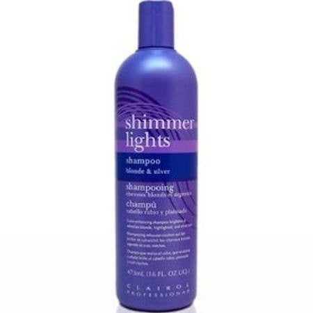 Clairol Shimmer Lights Shampoo Blonde And Silver 8 oz