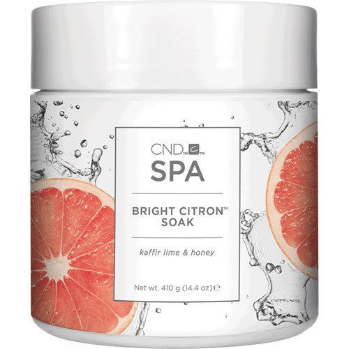 Cnd Spa Bright Citron Soak 14.4 oz