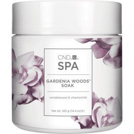 CND Spa Gardenia Woods Soak 14.4 oz
