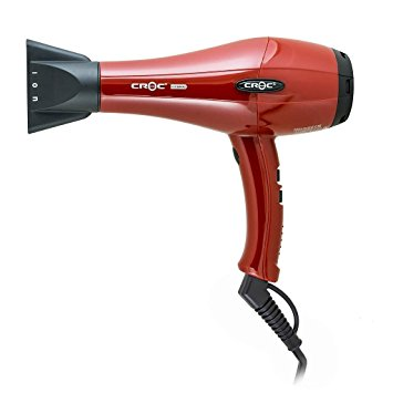 Croc Hybrid Hair Blow Dryer Red
