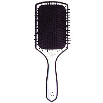 Diane 13 Row Silver Paddle Brush D1037