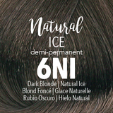 Mydentity Demi-Permanent Haircolor 2 oz Natural Ice 6NI Dark Blonde Swatch
