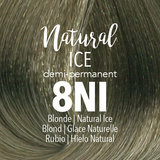 Mydentity Demi-Permanent Haircolor 2 oz Natural Ice 8NI Blonde Swatch