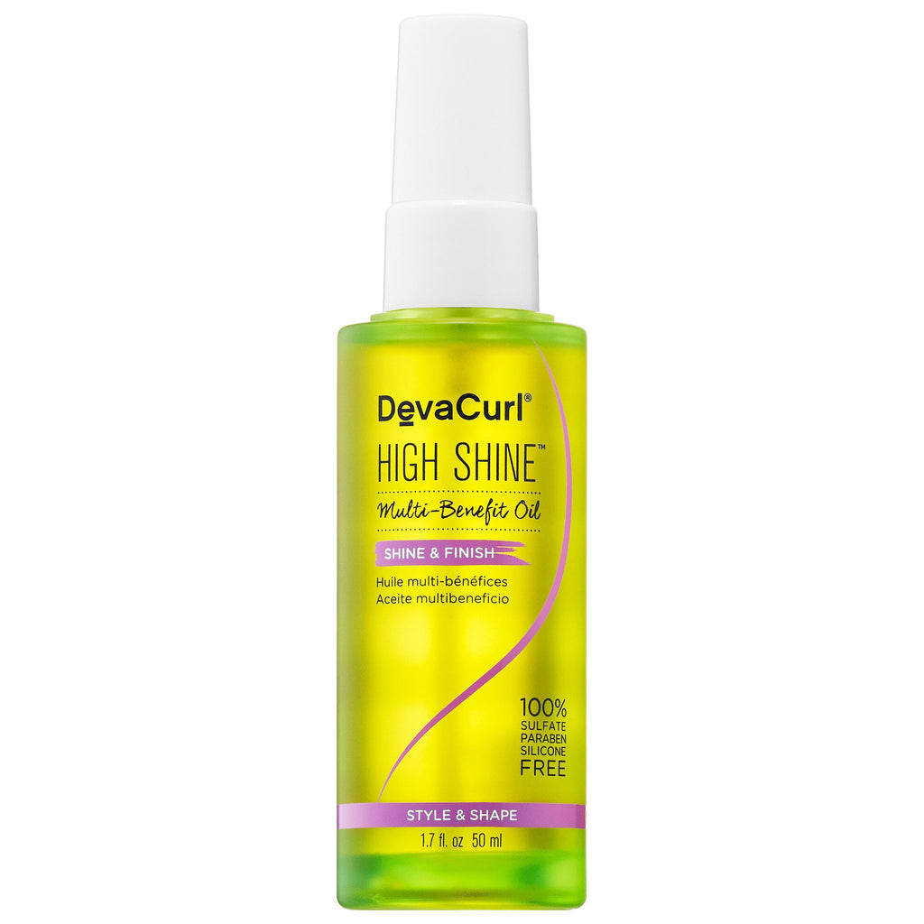 DevaCurl Shine & Finish High Shine Multi-Benefit Oil 1.7 oz