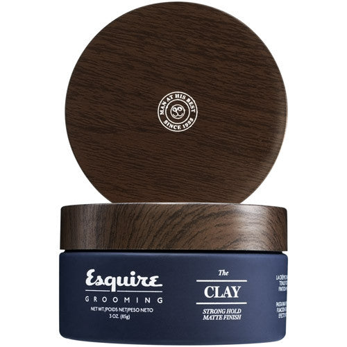 Esquire Grooming The Clay Strong Hold Matte Finish 3 oz
