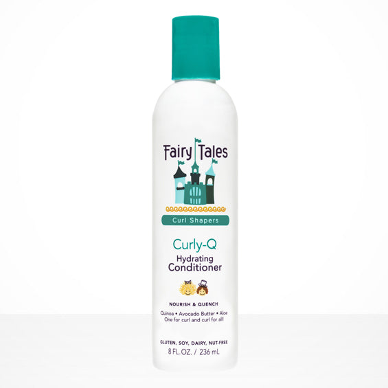 Fairy Tales Curl Shapers Curly Q Hydrating Conditioner 8 oz