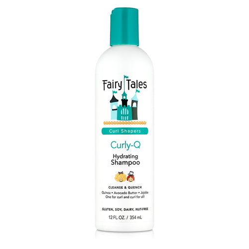 Fairy Tales Curl Shapers Curly Q Hydrating Shampoo 12 oz
