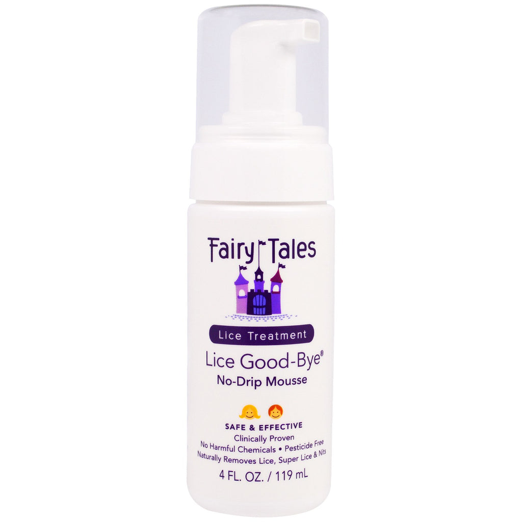 Fairy Tales lice Good Bye No Drip Mousse Lice Treatment 4 oz
