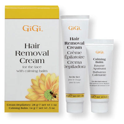 Gigi Hair Removal Cream For Bikini and Legs with Calming Balm 2 oz 0445