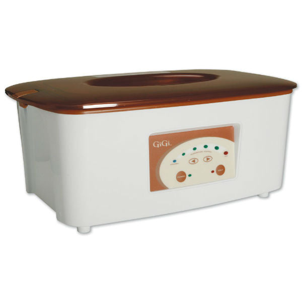 Gigi Digital Paraffin Bath With 6 lbs. of Peach Wax