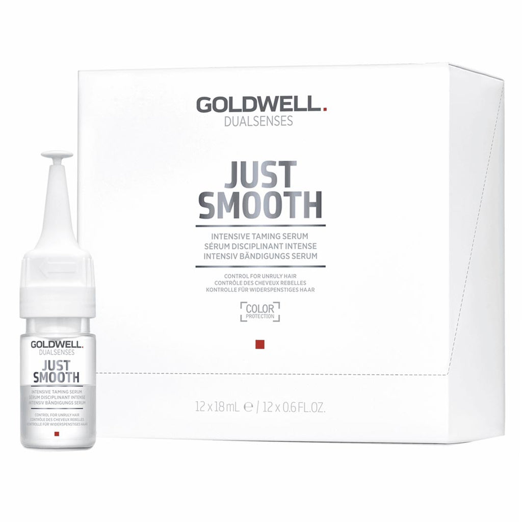Goldwell Daulsenses Just Smooth Intensive Taming Serum 12 Vial x 0.6 oz