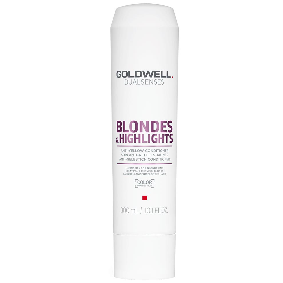 Goldwell Dualsenses Blonde & Highlights Anti-Yellow Conditioner 10.1 oz