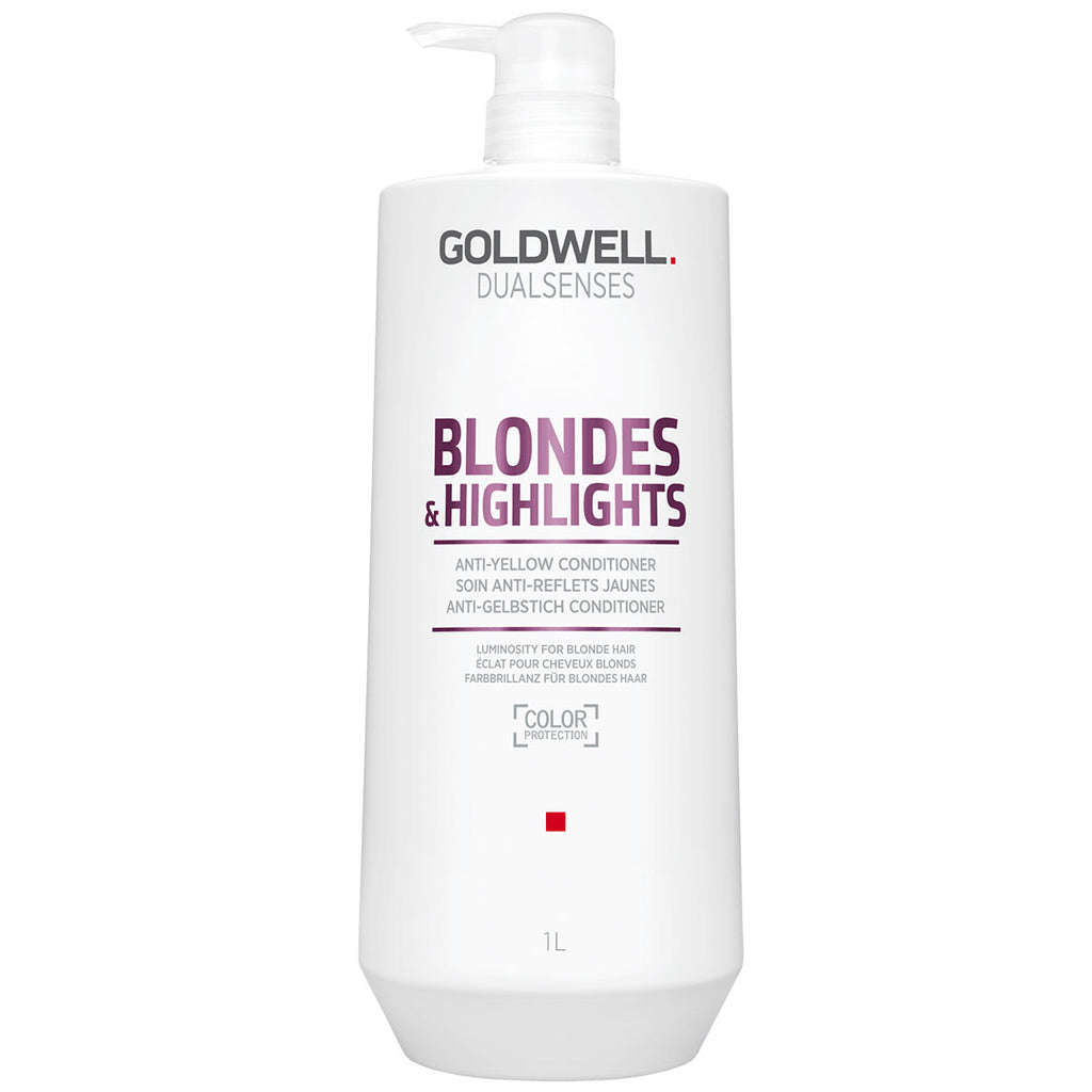Goldwell Dualsenses Blonde & Highlights Anti-Yellow Conditioner 1 Liter