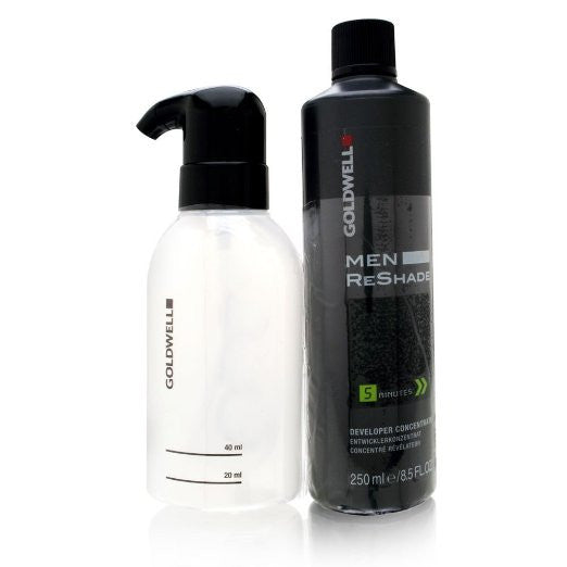 Goldwell Men ReShade Developer Concentrate 8.5 oz with Applicator Bottle