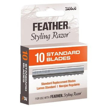Jatai Feather Styling Razor Replacement 10 Standard Blades