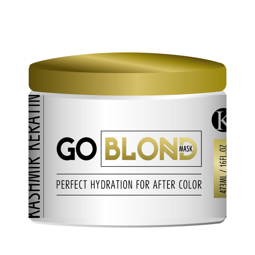Kashmir Keratin Go Blond Mask 16 oz
