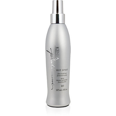 Kenra Platinum Hot Spray Firm Hold Heat Protection Spray 8 oz