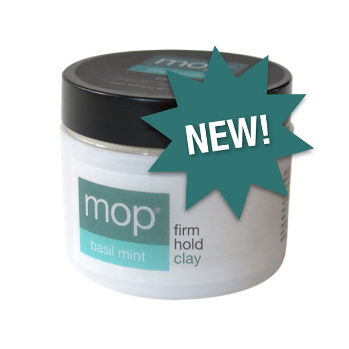 MOP Basil Mint Firm Hold Clay 2 oz