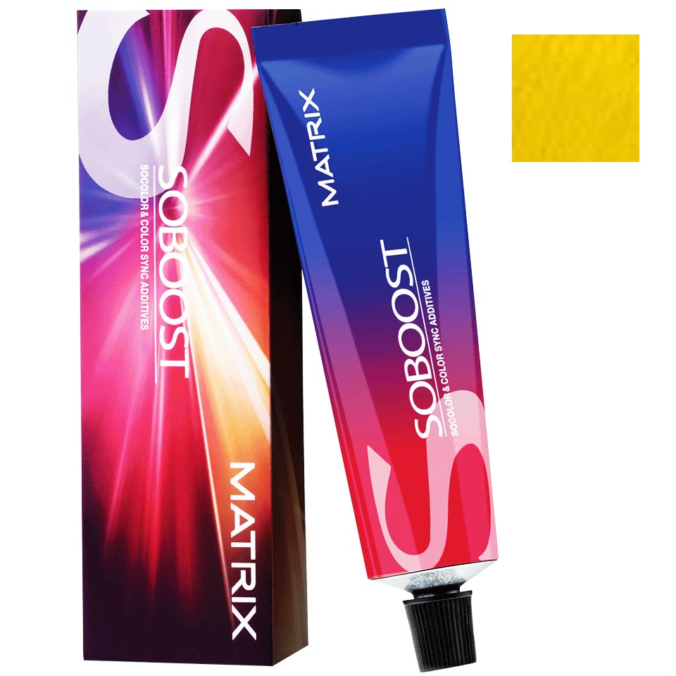 Matrix SoColor and ColorSync Additives SoBoost Yellow