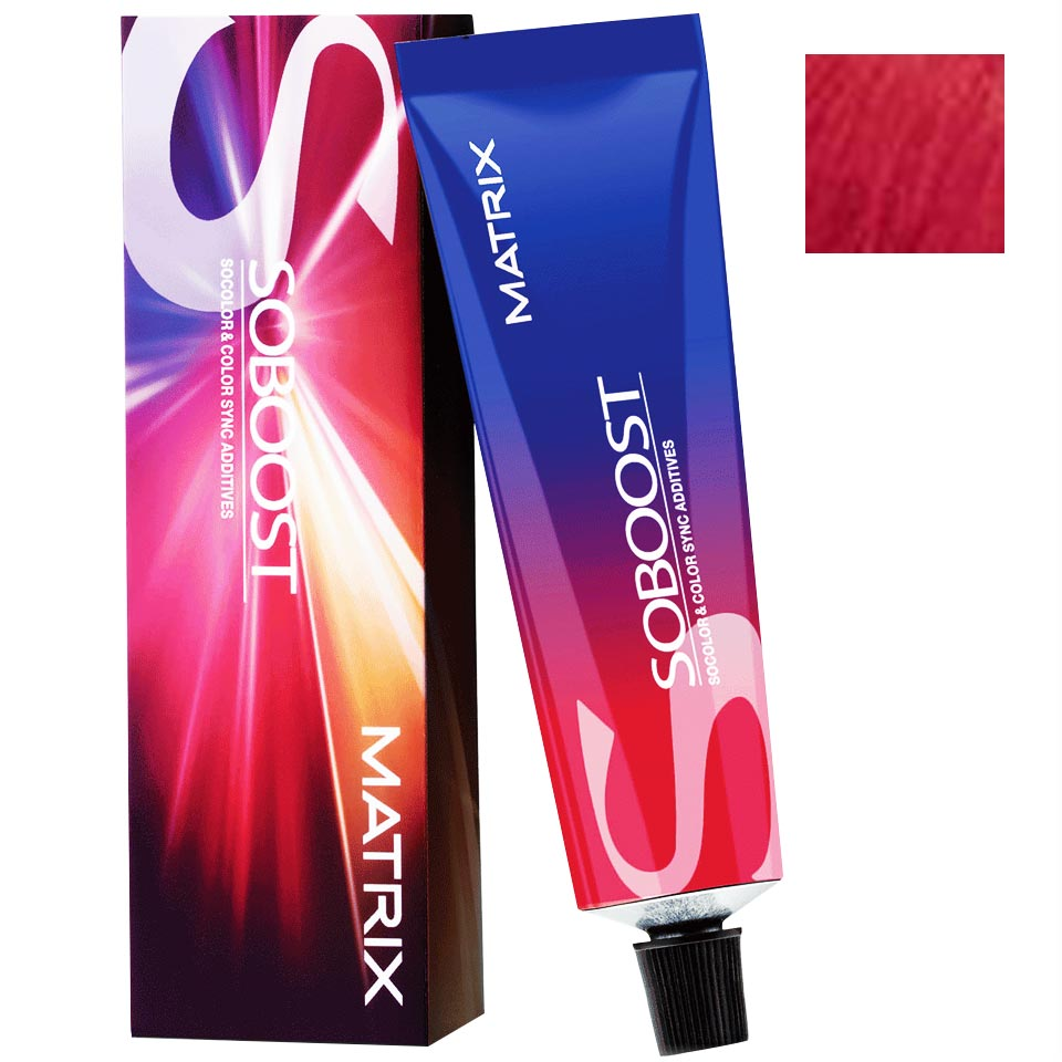 Matrix SoColor and ColorSync Additives SoBoost Red