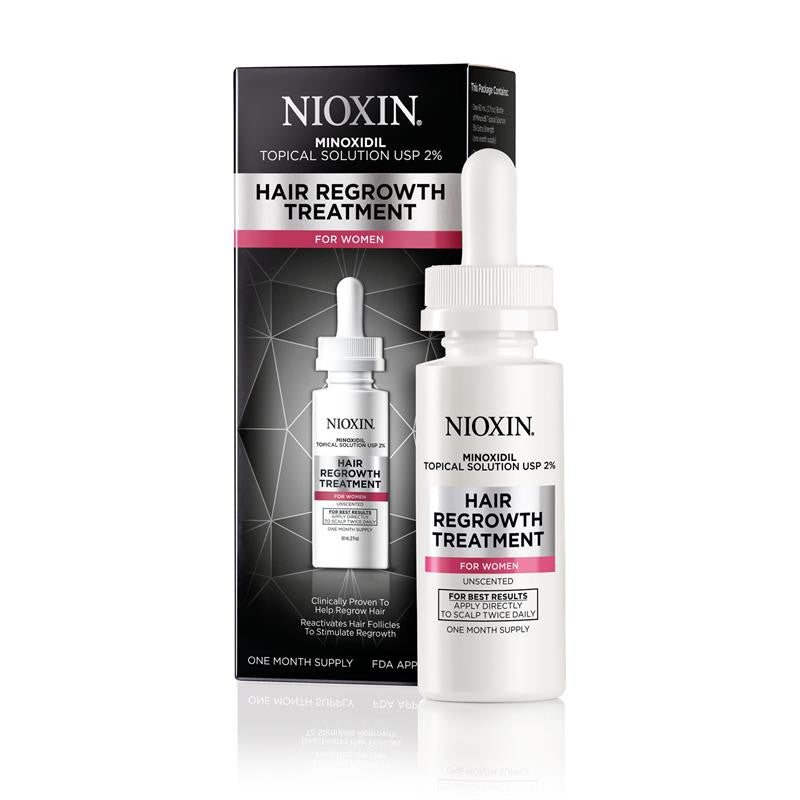Nioxin Hair Regrowth Treatment for Women 1 Month Supply 2 oz