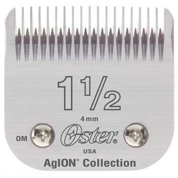 "Oster Blades 76 AgION Size # 1-1/2"" Hair Clipper 76918-116"