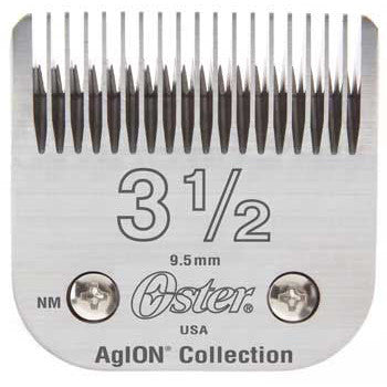 "Oster Blades 76 AgION Size # 3-1/2"" Hair Clipper 76918-146"