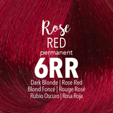 Mydentity Permanent Hair Color 2 oz Rose Red 6RR Dark Blonde Swatch