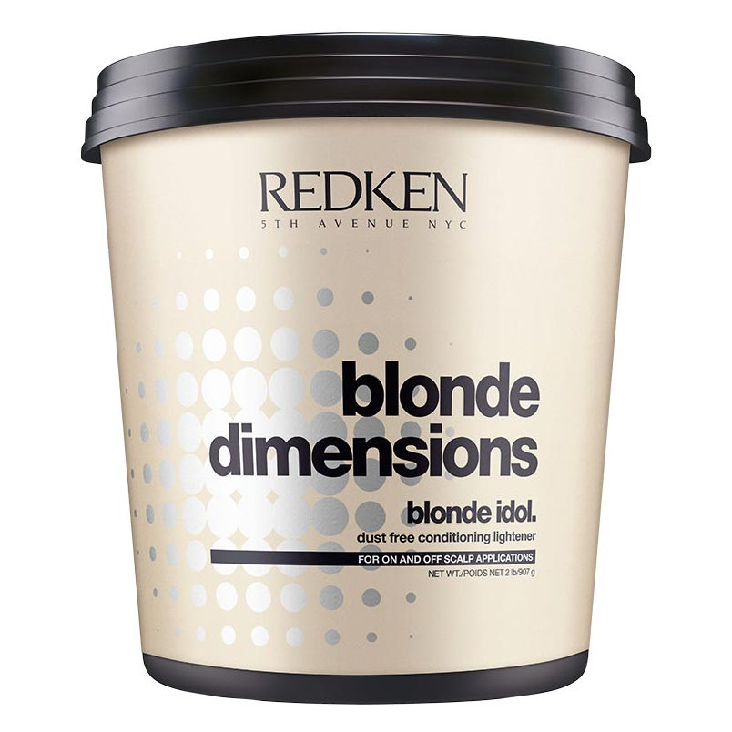 Redken Blonde Idol Blonde Dimensions Dust-free Conditioning Lightener 32 oz