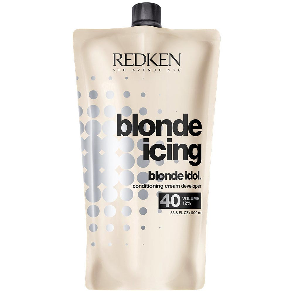 Redken Blonde Idol Conditioning Cream Developer 33.8 oz Vol 40