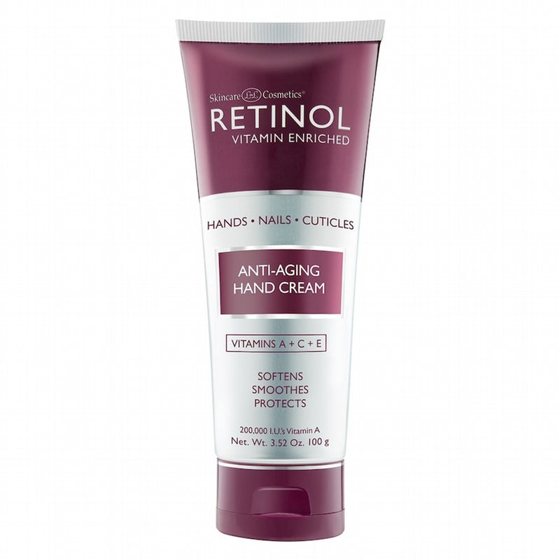 Retinol Anti Aging Hand Cream with SPF 12 3.4 oz