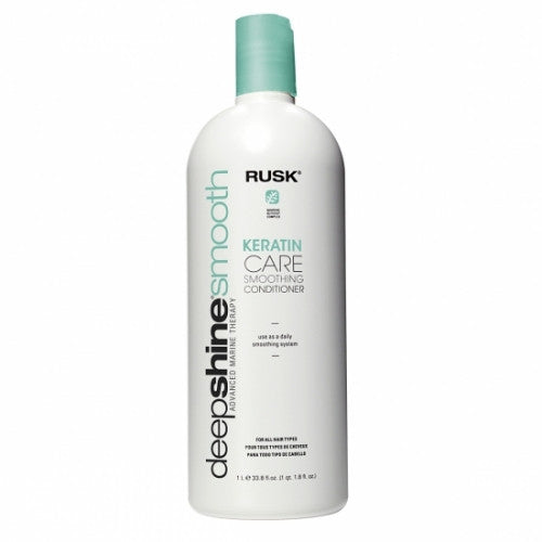Rusk Deepshine Smooth Keratin Care Smoothing Conditioner 33.8 oz