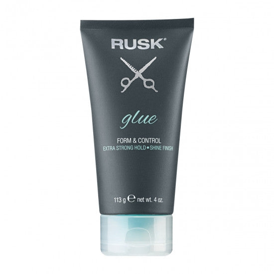 Rusk Glue Form & Control Extra Strong Hold Shine Finish 4 oz