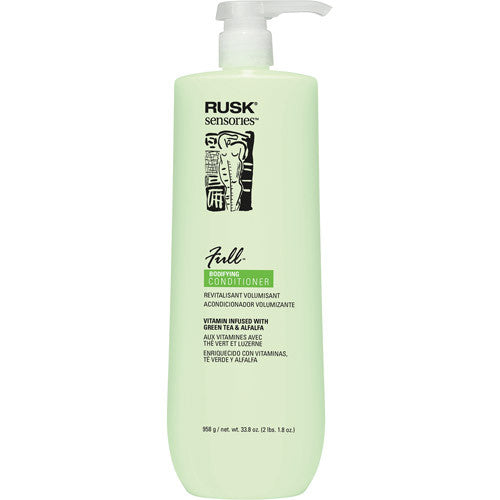 Rusk Sensories Full Conditioner Green Tea and Alfalfa 33.8oz