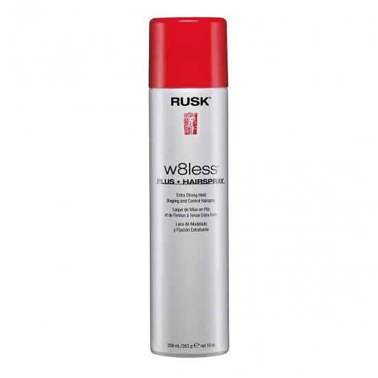Rusk W8less Plus Hairspray Extra Strong Hold 10 oz