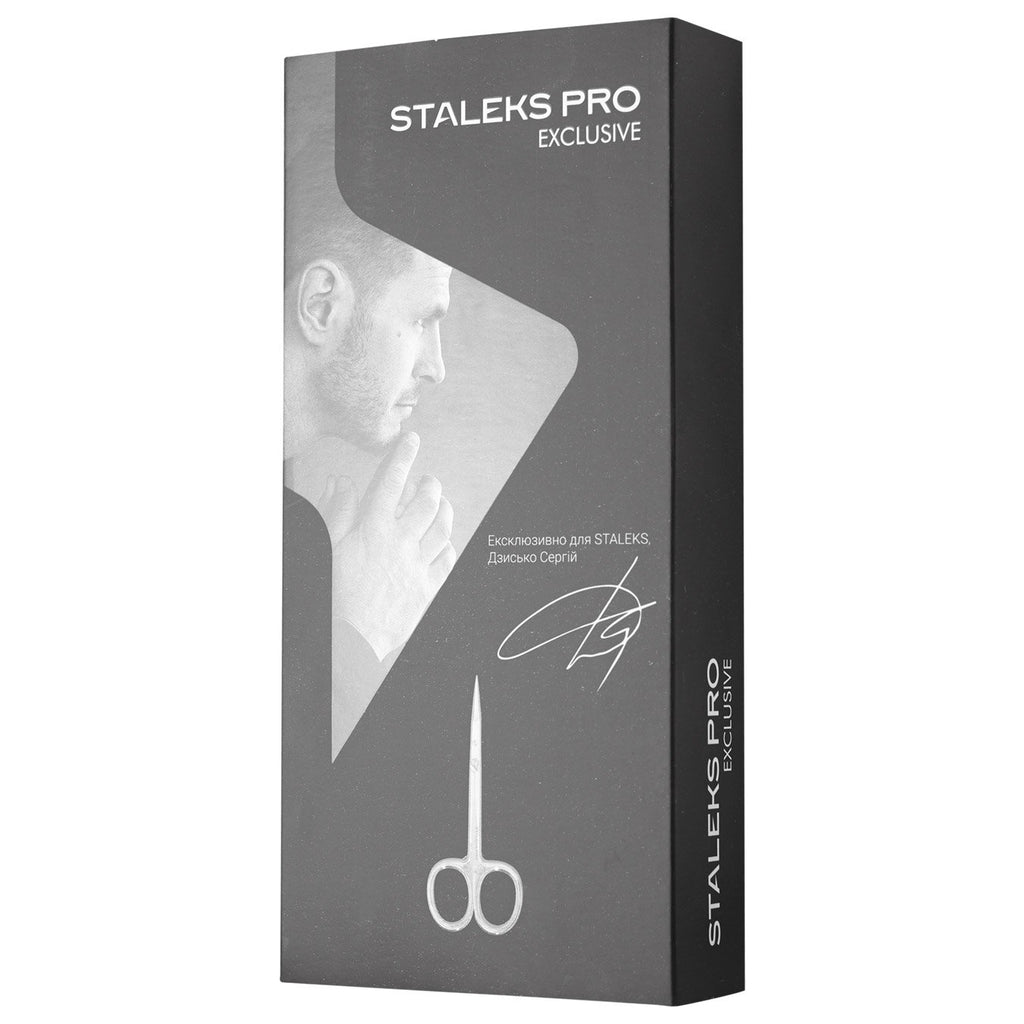 Staleks Pro Exclusive SX-21/1 Cuticle Scissors Exclusive 21 Type 1 Magnolia