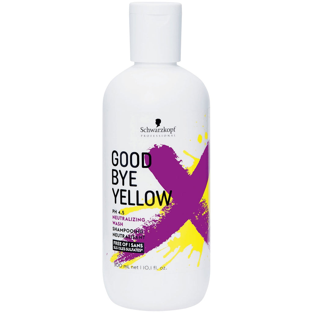 Schwarzkopf Goodbye Yellow Neutralizing Wash Shampoo 10.1 oz