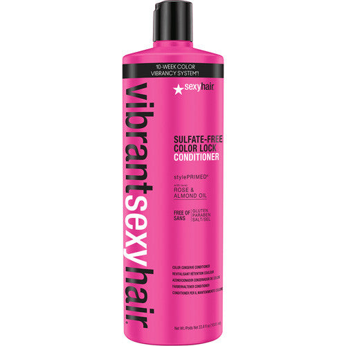 Sexy Hair Vibrant Sexy Hair Sulfate Free Color Lock Conditioner 33.8 oz