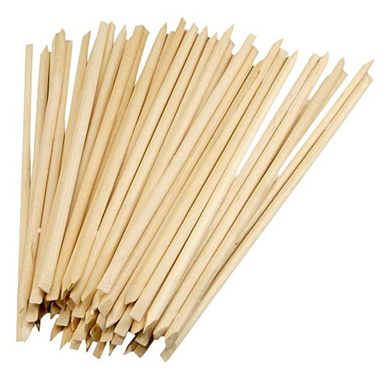 Soft Touch Birch Wood Manicure Sticks Package of 100 pcs