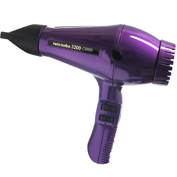 Turbo Power Twin Turbo 3200 Hair Dryer Violet